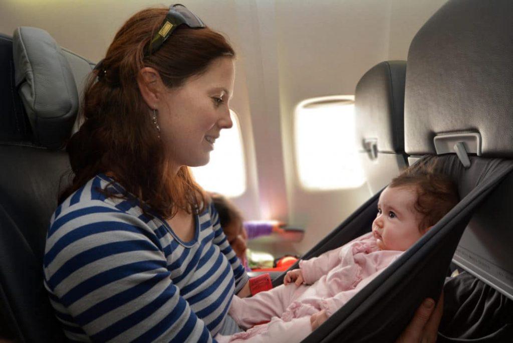 3. Är bärsele bra på flygplanet?